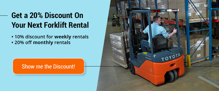 8 Reasons to Rent from a Forklift Dealer