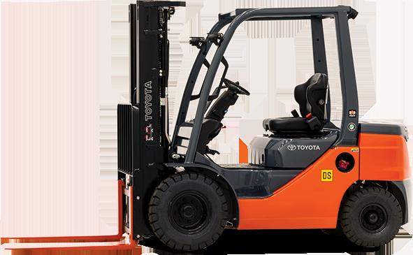 8FDU IC Pneumatic Toyota Forklift