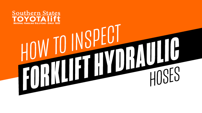 How To Inspect Forklift Hydraulic Hoses