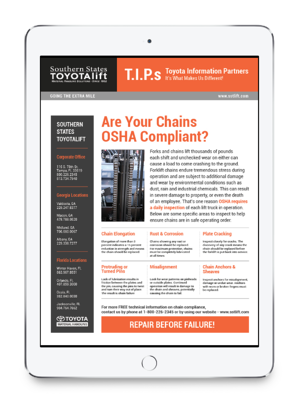 Are Your Chains OSHA Compliant?