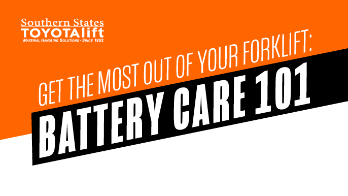 Blog Image - Get the Most Out of Your Forklift - Battery Care 101