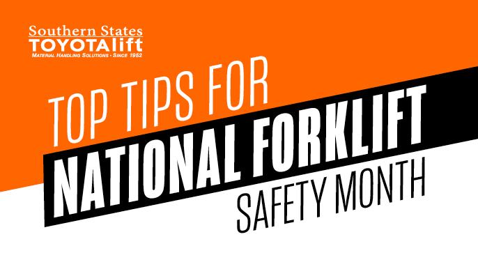 Blog Image - Top Tips for National Forklift Safety Month