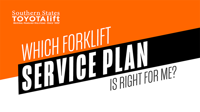 SST Blog Graphic - Which Forklift Service Plan is Right for Me