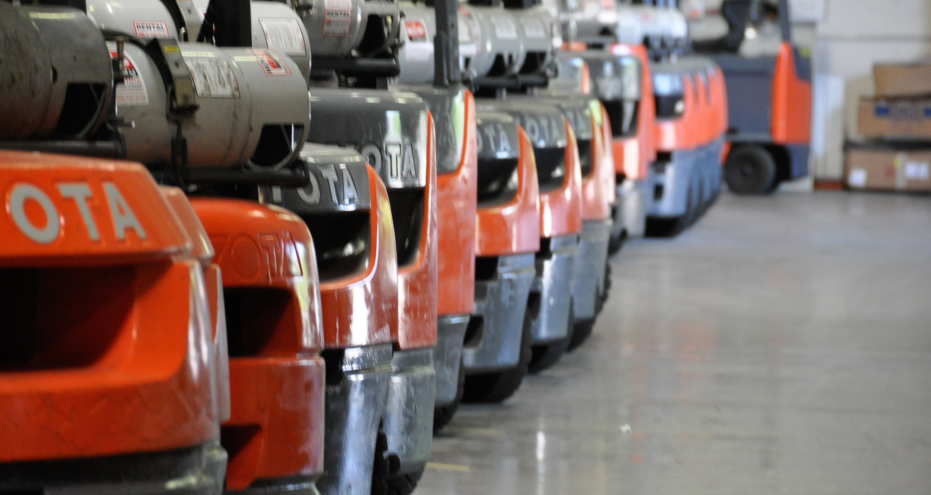 Our Used Forklift Fleet