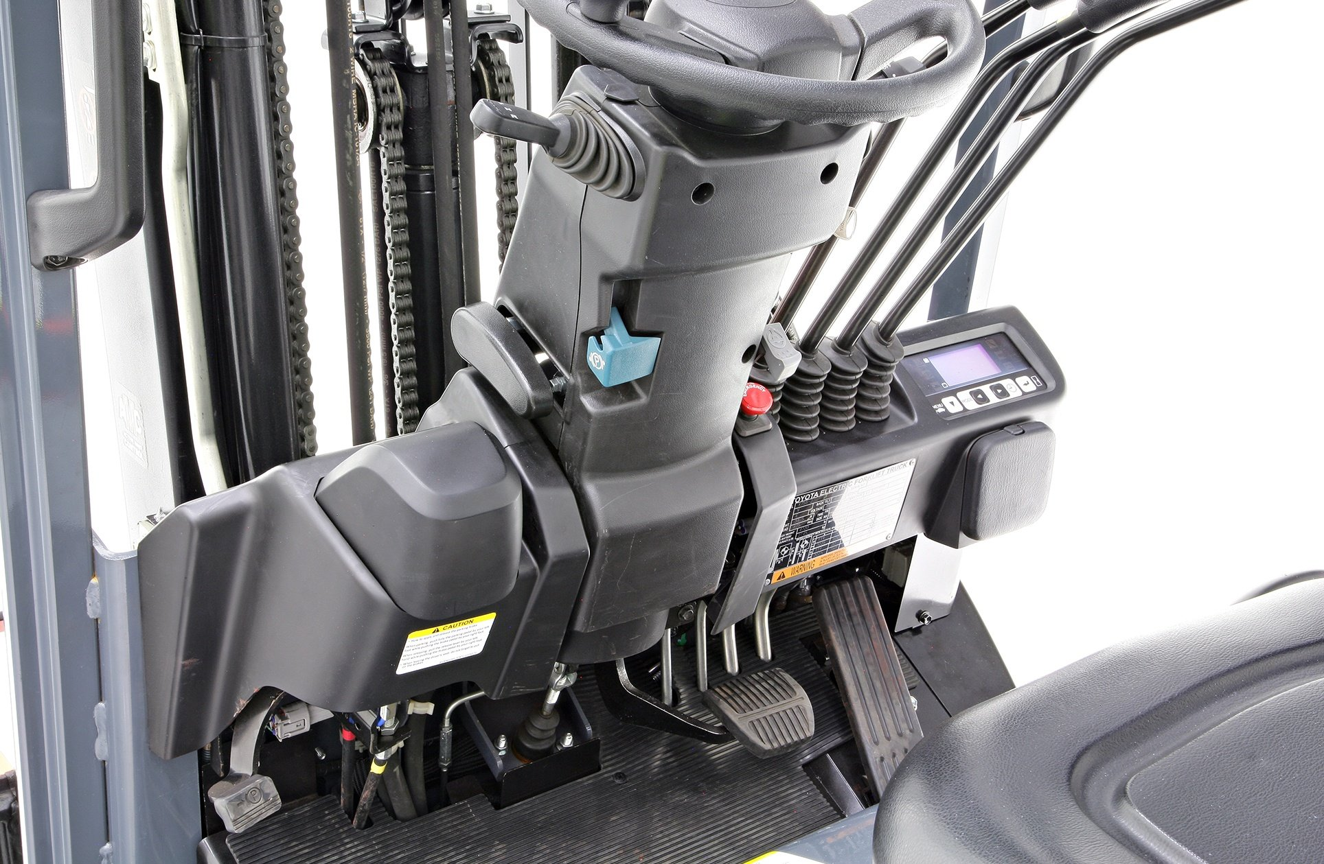 Toyota 3-Wheel Electric Forklift durability