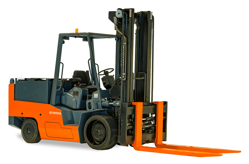 Toyota High Capacity Electric Cushion Forklift for sale