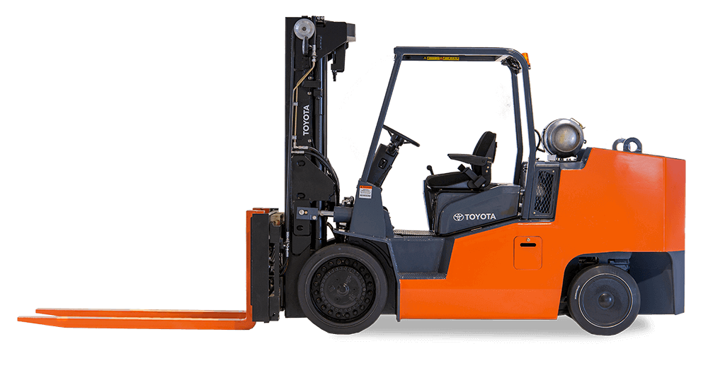 Toyota High Capacity Cushion Forklift for sale