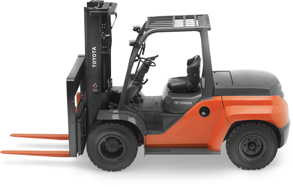 Toyota Large IC Pneumatic Forklift for sale