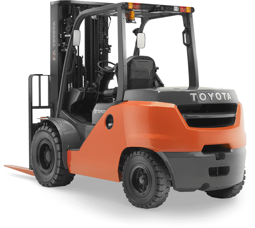 Toyota Mid IC Pneumatic Forklift for sale