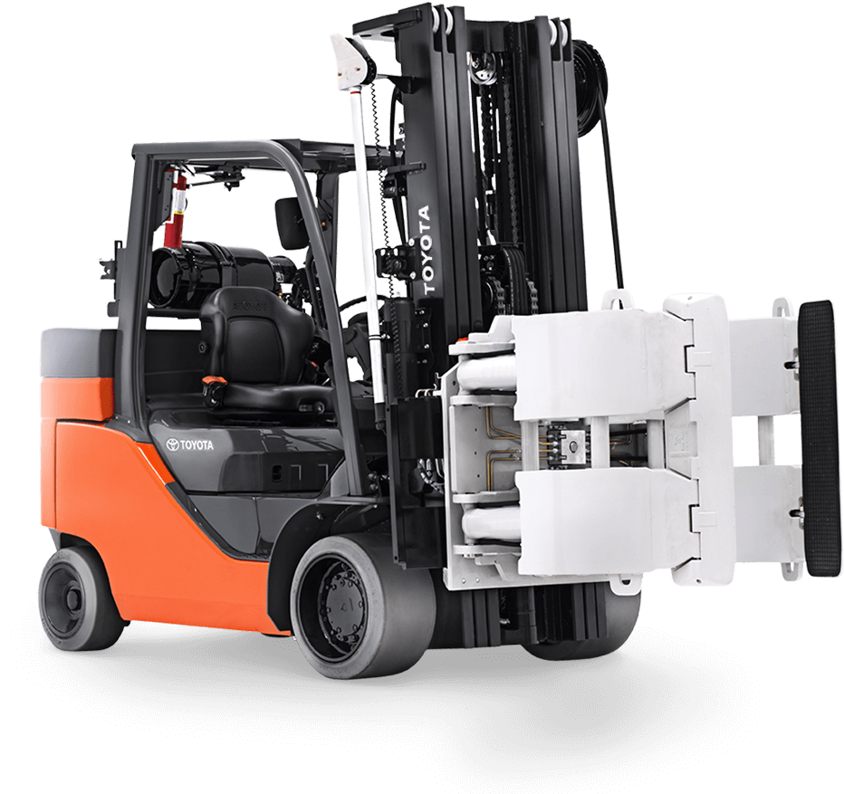 Toyota Paper Roll Special forklift special for sale