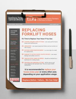 Forklift Hydraulic Hose Checklist
