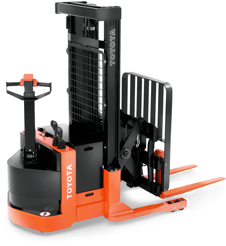 Toyota Walkie Reach Truck Forklift for sale