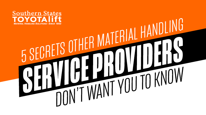5 Secrets Other Material Handling Service Providers Don't Want You To Know