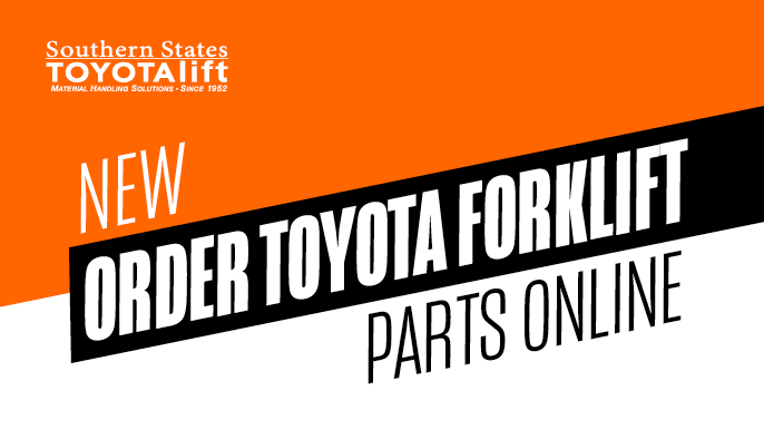 NEW - Order Toyota Forklift Parts Online