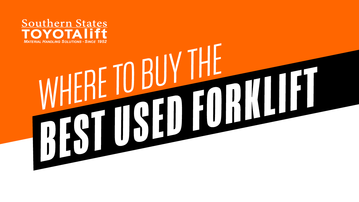 Where to Buy the Best Used Forklift
