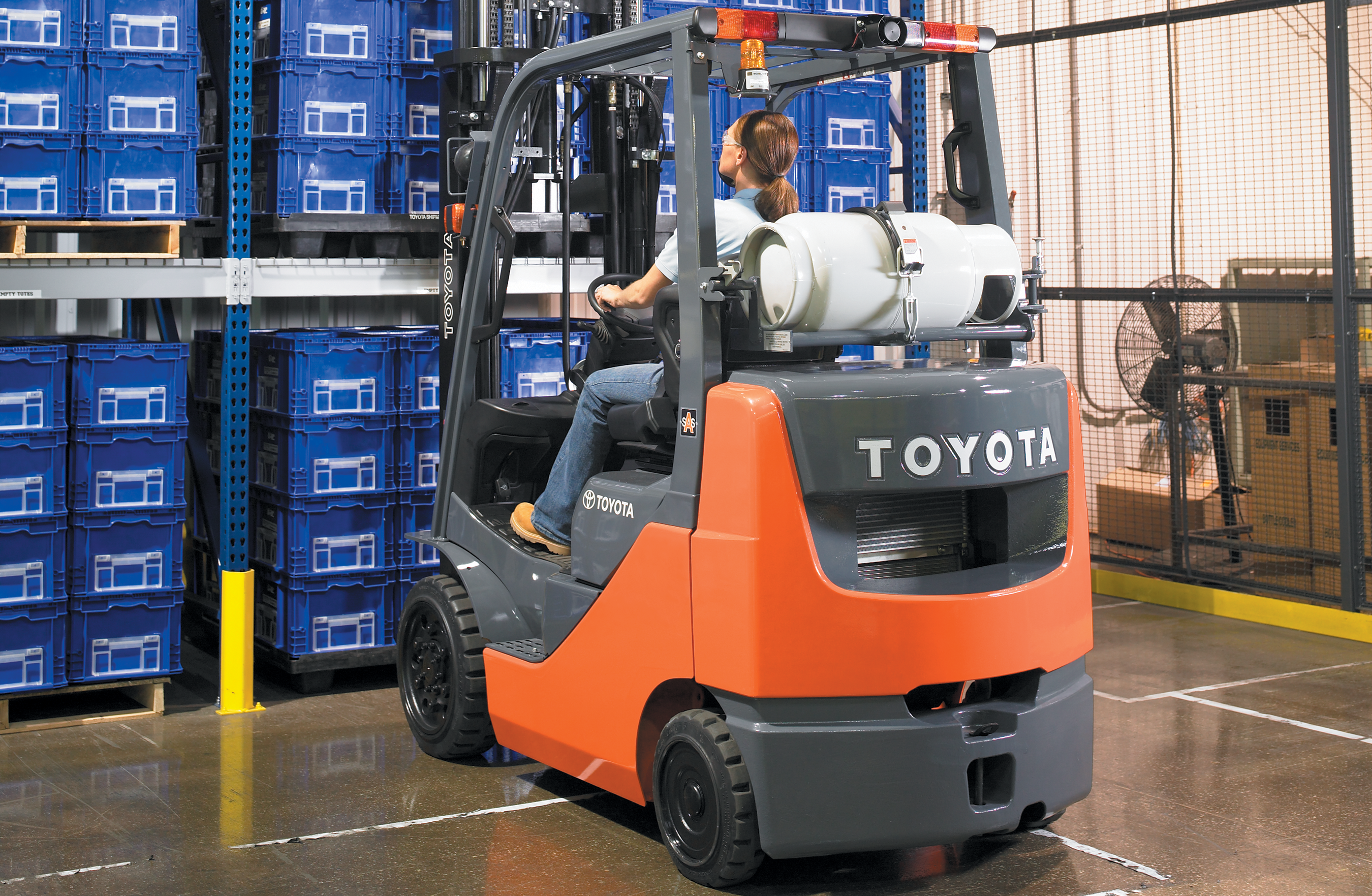Toyota LP Forklift Cushion Tires