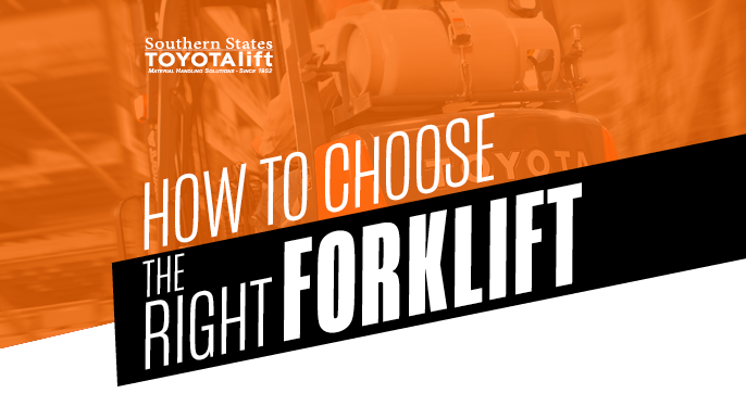 How to Choose the Right Type of Forklift