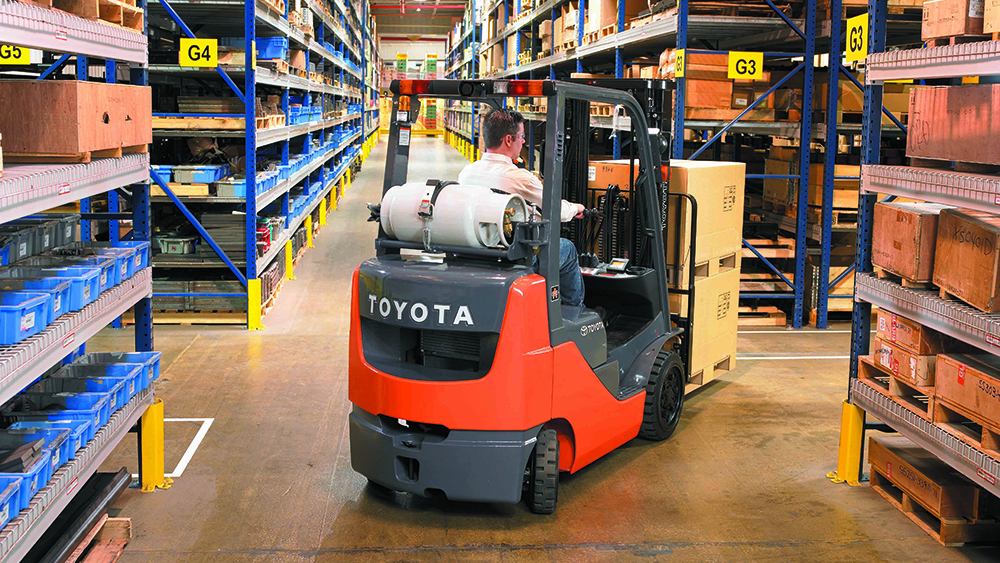 Forklifts for distribution centers