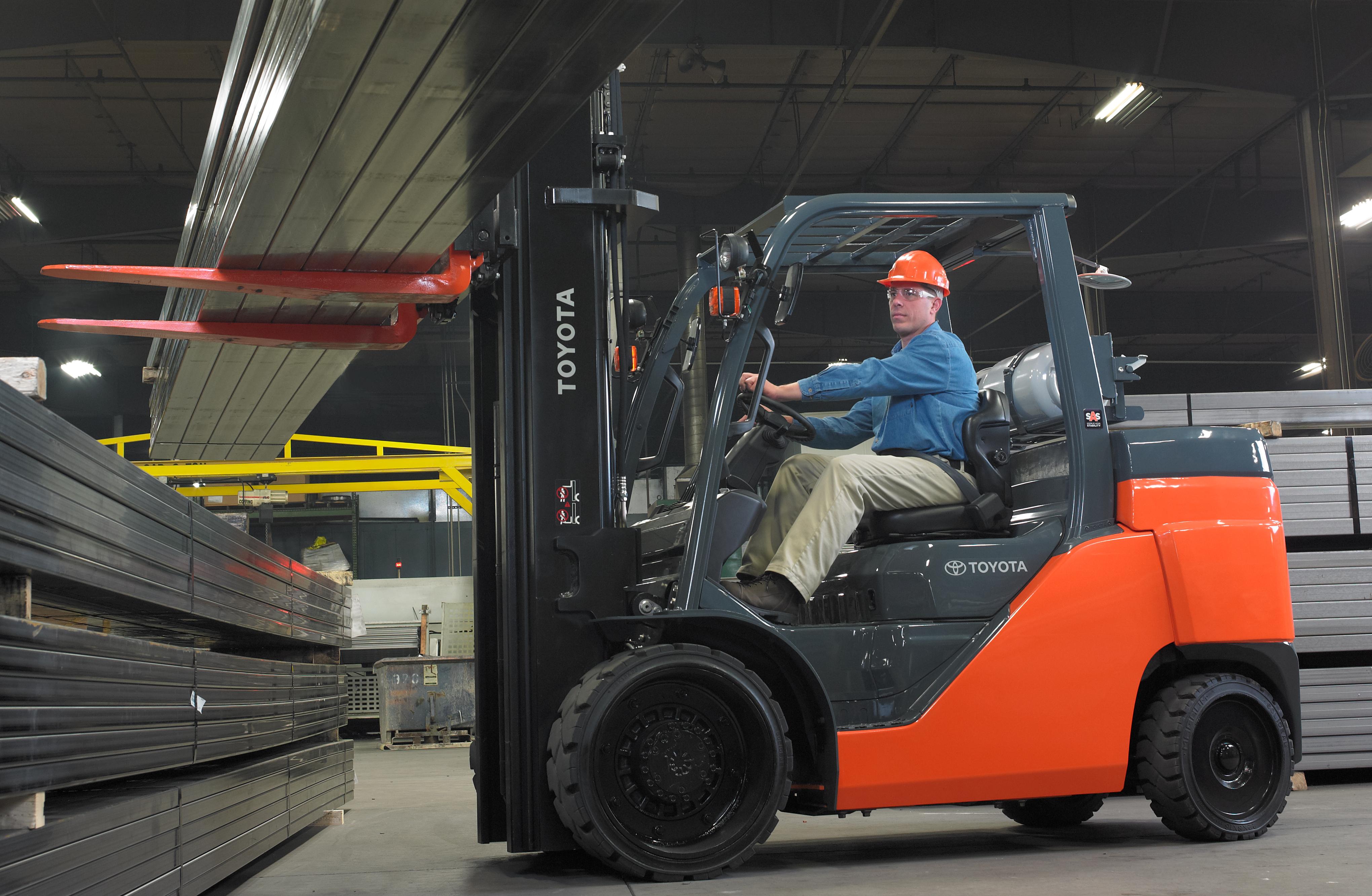 Large Capacity Cushion Forklift
