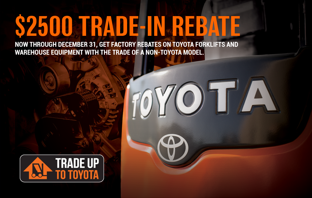 Trade Up to Toyota and Get $2,500