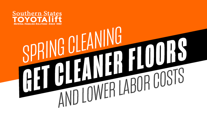 Spring Cleaning - Get Cleaner Floors and Lower Labor Costs