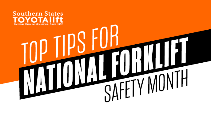 Top Tips for National Forklift Safety Month