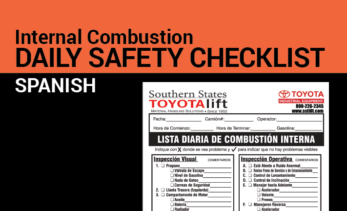 Internal Combustion Safety Checklist
