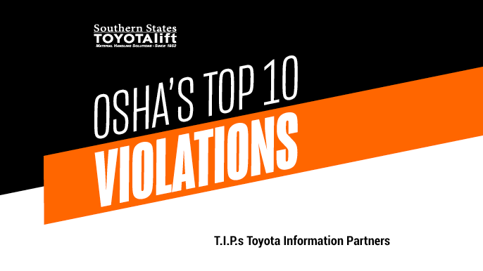 Top 10 OSHA Violations of 2018