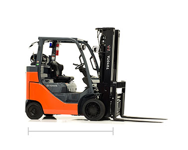 Toyota Box Car Special forklift dealer