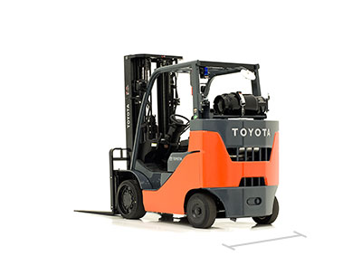 Toyota forklift models