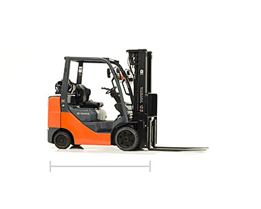 Toyota Core IC Cushion Forklift dealer