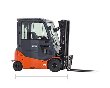 Toyota electric forklift model