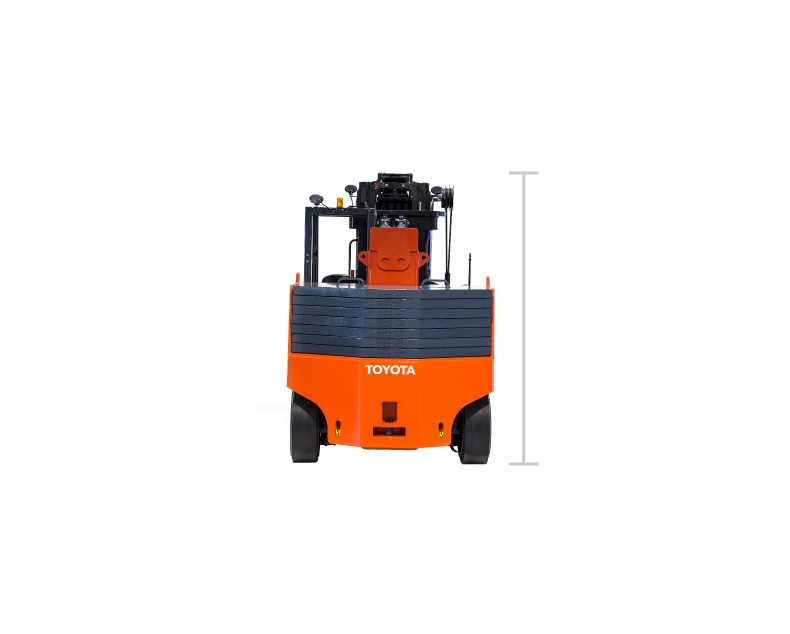 Toyota High-Capacity Adjustable Wheelbase forklift model
