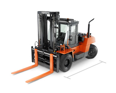 Toyota High Capacity IC Pneumatic forklift dealer