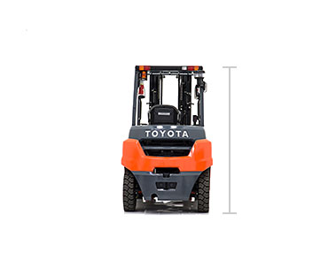 Toyota Mid IC Pneumatic forklift model