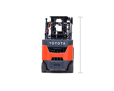 Toyota Paper Roll Special forklift for sale