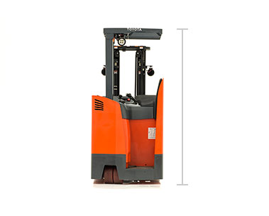 Toyota Stand up riding forklift dealer