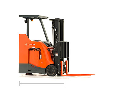 Toyota Standing forklift for sale