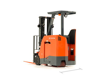 Toyota Stand Up Forklift model