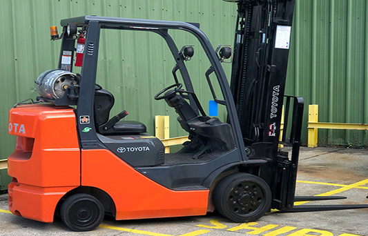 used core IC pneumatic forklift