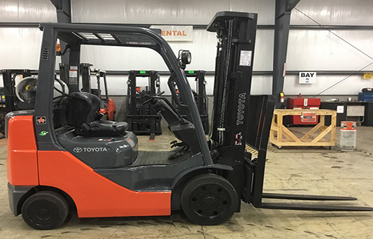used core ic cushion forklift