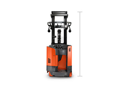 Toyota Reach Truck forklift model